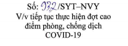 Tiếp tục thực hiện đợt cao điểm phòng, chống dịch COVID-19